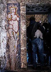 Villa Litta: mosaico al ninfeo