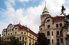Oradea: palazzo dell'Aquila Nera