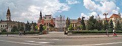 Oradea: piazza principale