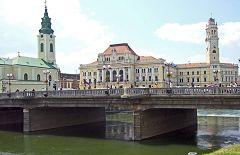 Oradea: ponte sul centro