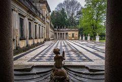 Villa Litta: pavimento a mosaico