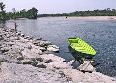 Pescatori nel Ticino