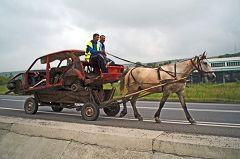 Rupea: mezzi di trasporto