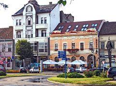 Satu Mare: palazzo del centro