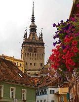 Sighisoara: torre dell'orologio