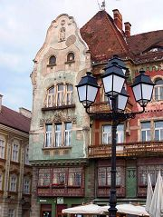 Timisoara: piazza Unirii