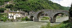 Morbegno: il ponte di Ganda