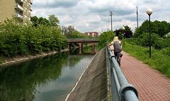 Garbagnate: ponte sul Villoresi