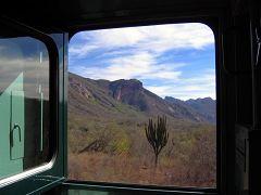In treno da Creel a Divisadero