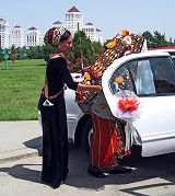 Ashgabat: matrimonio