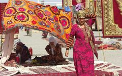 Ashgabat: bazar di Tolkuchka