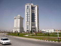 Ashgabat: palazzi