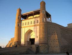 Bukhara: ingresso palazzo dell'emiro