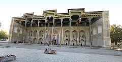 Bukhara: moschea Bolo Haouz