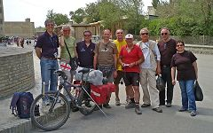 Bukhara: incontro con Lezhava