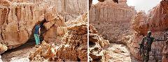 Dallol: canyon di sale