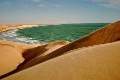 Lungo la costa dell'Oman