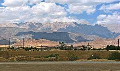 Damghan: paesaggio