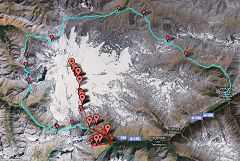 Viaggio sull'Elbrus