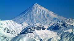 Elburz: monte Damavand Amol