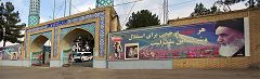 Esfahan: cimitero dei martiri