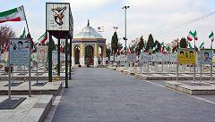 Isfahan: cimitero dei martiri