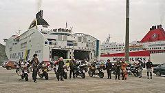 Igoumenitsa: sbarco