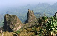 Montagne del Simien - Imet Gogo
