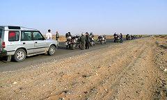 Karakum: sosta nel deserto