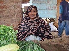 Venditrice di frutta a Karima