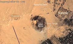 Piramidi e Jebel Barkal a Karima