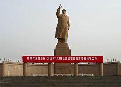 Kashgar - statua di Mao