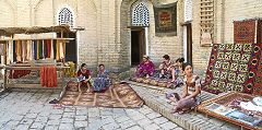 Khiva: cortile