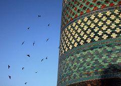 Khiva: minareto troncato di Kalta Minar