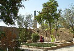 Khiva: minareto Islom-Huja