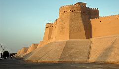 Khiva: le mura
