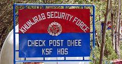 Khunjerab check post