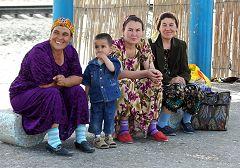 Khiva: bus stop
