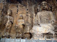 Grotte del monte Longmen presso Luoyang