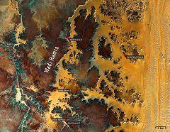 Mappa del Wadi Hamra