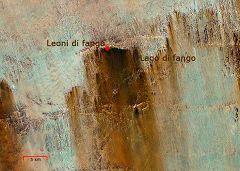Mappa del Lago di Fango