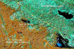 Mappa dell'oasi di Sciata