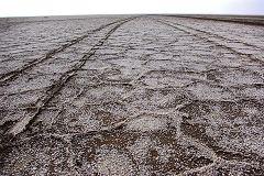 Maranjab: lago salato