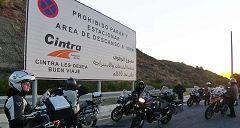 Marbella: sosta autostradale