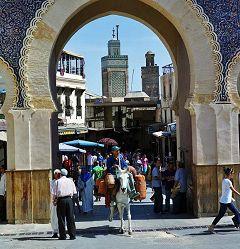 Fes: Bab Boujloud