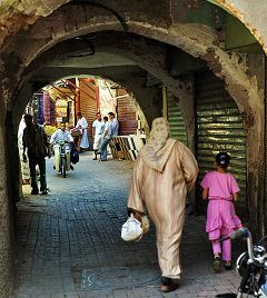 Marrakech: souk