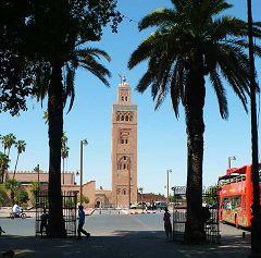 Marrakech: torre Koutoubia
