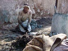 Marrakech: tintori