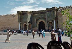 Meknes: porta Bab Mansour