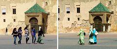 Meknes: piazza Lahdim